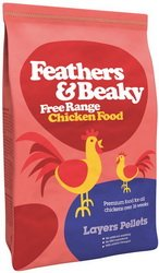 Spikes World Feathers And Beaky Free Range Layers Pellets 15kg
