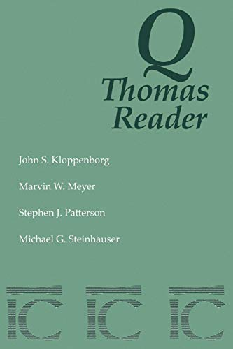 Q Thomas Reader (English, Coptic and Coptic Edition)