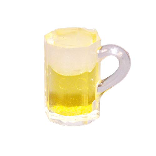 Melody Jane Dollhouse Pint of Lager Glass Mug Ale Beer Miniature 1:12 Pub Bar - Pub Glass Ale