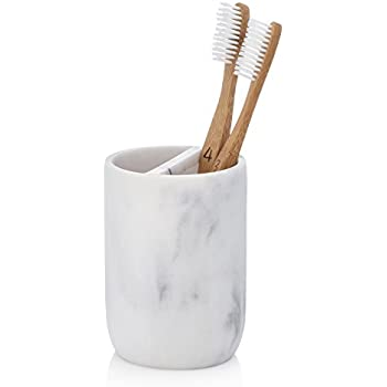 Amazon Com Essentrahome Blanc Collection White Toothbrush