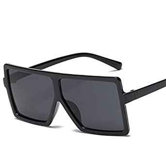 Image Unavailable. Image not available for. Color  Glasses Oversized  Sunglasses Women s Mirror ... 1aceaf7af9
