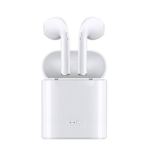 Wireless Headphones Bluetooth Earbuds Earpiece - Stereo Headsets- Mini Cordless Hands Free Earphones - for Apple...