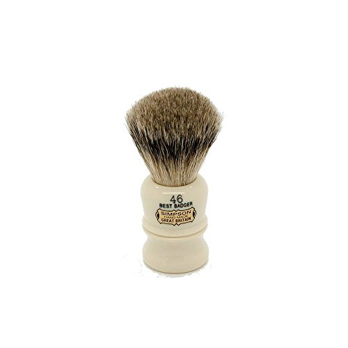 (Simpson Shaving Brushes Berkeley 46 B Best Badger Handmade British Shaving Brush by Simpson Shaving Brushes)
