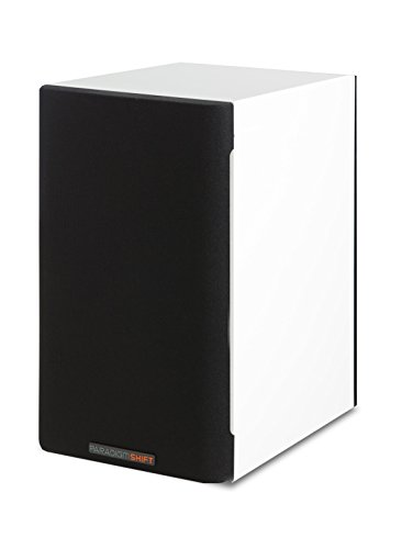 Paradigm Shift A2 Bookshelf Speaker (Polar White Gloss) (Paradigm Shift Speakers)