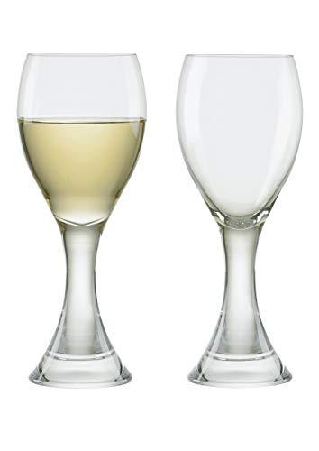Manhattan White Wine Glasses, Set of 2, Transparent (Manhattan White Wine)
