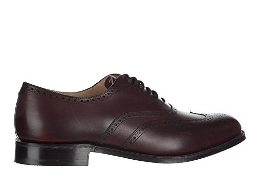 Churchs clásico zapatos de cordones hombres en piel nuevo brogue berlin marrón