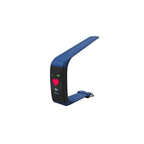 Morrivoe Smart Watch, Touch Screen Bluetooth Smart Watch Waterproof Fitness Activity Tracker Wearable Oxygen Blood Pressure Wrist Watch Bluetooth Running GPS Tracker Sport