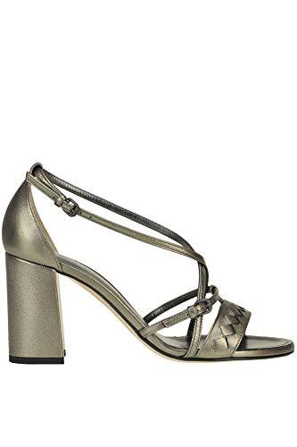 Bottega Veneta Luxury Fashion Womens MCGLCAT0000E7150E Grey Sandals | Season Outlet