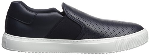 on A Perforated Exchange X Sneaker Slip Men Armani Navy xSYFz