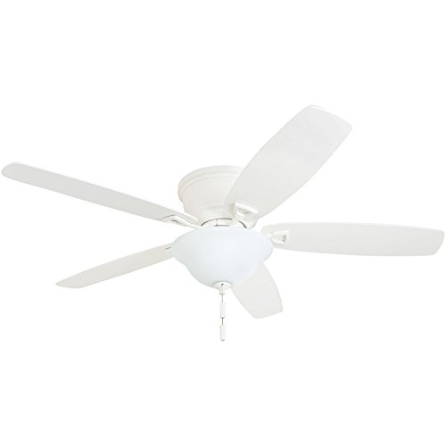 Honeywell Ceiling Fans 50520-01 Quick-2-Hang Hugger Ceiling Fan 52