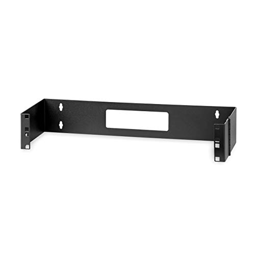 StarTech.com 2U 19in Hinged Wall Mount Bracket for Patch Panels - 2U Wallmount Bracket - 2U Wall Bracket