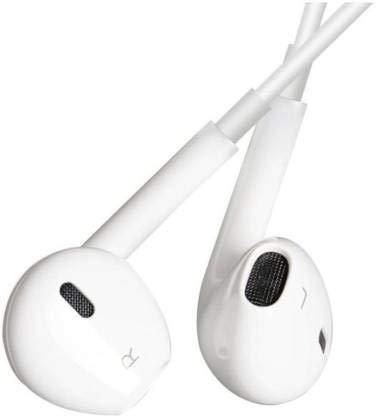 Verward Wired Earphones in-Ear Super Extra Bass Headphones for Mi Redmi Note 8 Pro