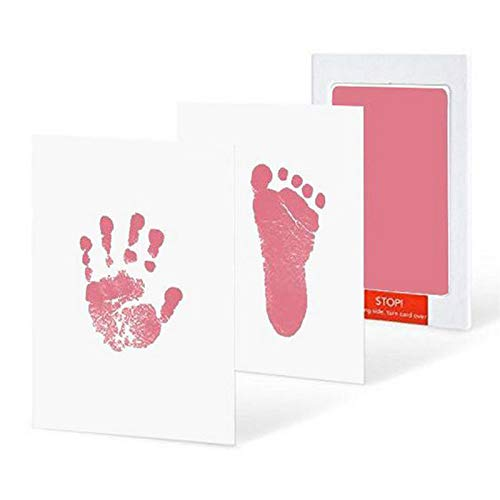 Asien LOOZYKIT Newborn Handprint Footprint Pad Dipinto Inchiostro Rilievo Photo Hand Print Pad Meraviglioso Keepsake Inkless