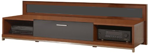 (Plateau Valencia 79 W Wood TV Stand, 79-Inch, Walnut Finish)