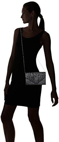 mano de Wendy Swankyswans Carteras Plateado Glitter Silver Envelope Mujer dRXRxwvIq