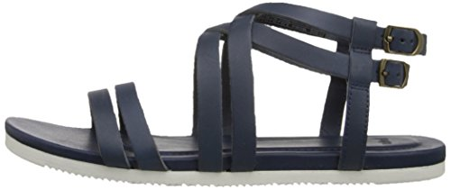 marineblau Avalina Women's Crossover Blue Athletic Teva Sandals Leather W's S68x8wdq