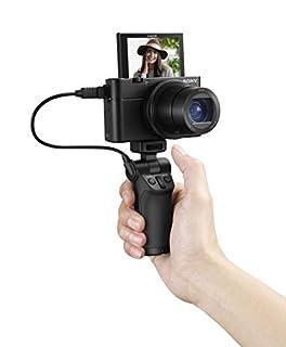 "Sony Cyber-shot DSC-RX100 III Digital Still Camera & OLED Finder, Flip Screen, WiFi, and 1"" Sensor with Vct Camera Grip, Vlogging Black (VCTSGR1) (B07DLRSKDJ) | Amazon price tracker / tracking, Amazon price history charts, Amazon price watches, Amazon price drop alerts"