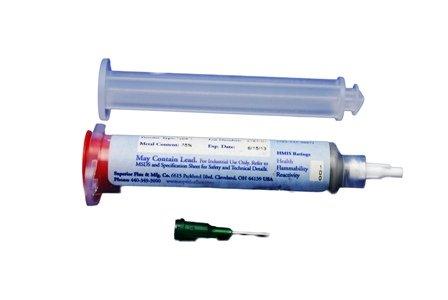 Aluminum Solder paste - 25 Grams in a Syringe