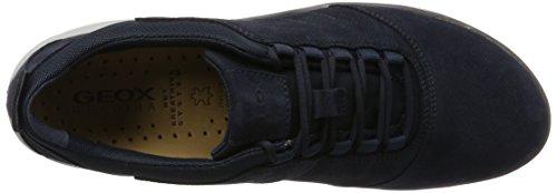 Geox U Nebula C, Zapatillas para Hombre Azul (Navy)