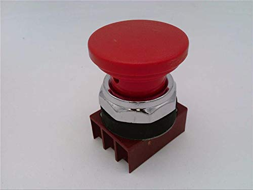 (FURNAS ELECTRIC CO 3SB03-PPR Push Button, 3SB03PRP, 30 MM, MAINTAINED, Push-Pull, Mushroom Head, RED)