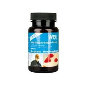 Weil-Daily Digestive Support Formula, (2 Pack) 120 Capsules