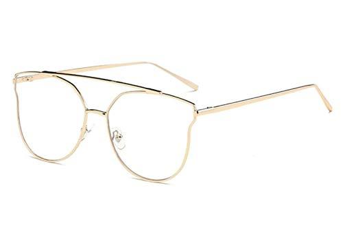 UV400 Gafas al la la decoración de unisex de de Guay viajar Huyizhi de de gafas libre Golden de aire protección Gafas la sol manera sol para las IxaWOTp