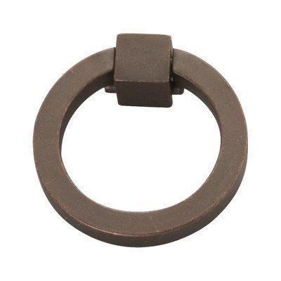 Camarilla Ring Pull [Set of 4] Finish: Dark Antique Copper by Hickory Hardware