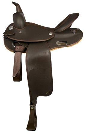 Wintec Synthetic Barrel Saddle 15.5in