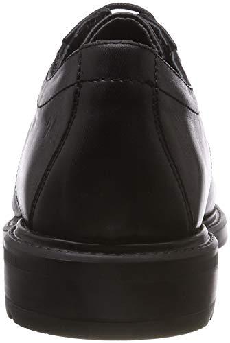 Para 7 24 Horas negro Oxford De 10456 Negro Hombre Zapatos Cordones  ZYvFHvnrqW c59bef048bff