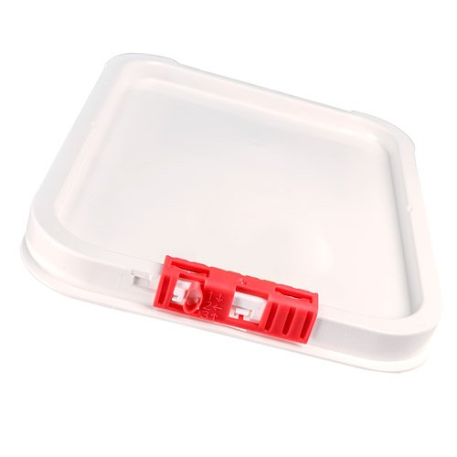 Cover for 4, 5 & 6.5 Gallon Life Latch Square Pails (1 Lid)
