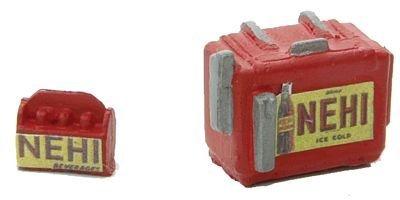 - HO Scale Custom Chest Type Soda Machine w/Case -- Nehi