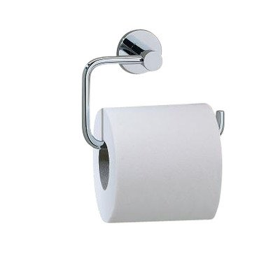 - Porto Wall Mounted Toilet Roll Holder Finish: Chrome