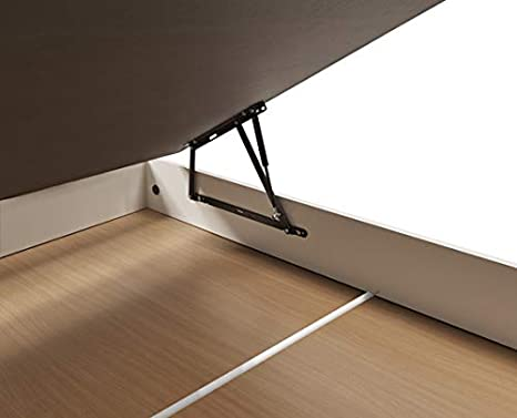 Canapé abatible Wood de Home Medida 90x190 cm Color Blanco