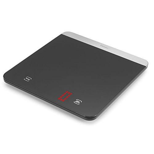 Polder KSC-445-95 LED Digital Kitchen Scale with Bright LED Display, 11-Pound (5 kg.) Capacity, Black