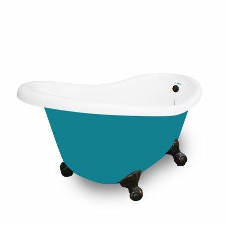 American Bath Factory T020a Ob Clawfoot Tub