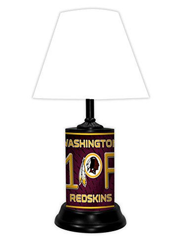 WASHINGTON REDSKINS TABLE LAMP -