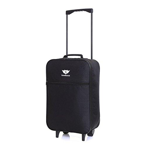 Slimbridge Barcelona bagaglio leggero a mano, Nero