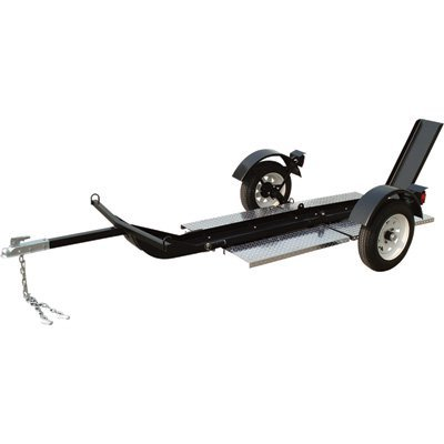 - Ultra-Tow Single-Rail Folding Motorcycle Trailer, Model# 3806S084