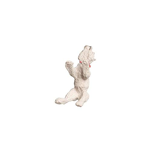 Dollhouse Miniature West Highland Terrier, Standing, White ()