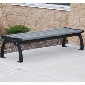 Amazon Com Heritage Backless Bench Recycled Plastic 8