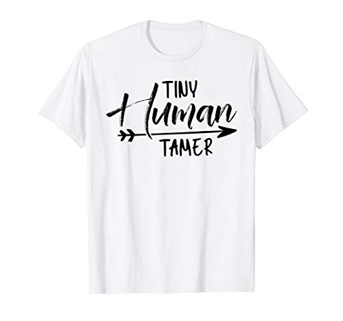 Tiny Human Tamer Preschool Squad Kindergarten Squad T-Shirt (The One With The Tiny T Shirt)