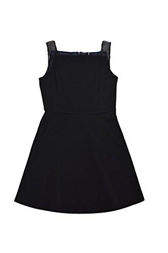 Elie Tahari Melany Black A-line Dress (Taylor Sleeveless Colorblock Dress)