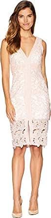Bardot Women's Heather Lace Dress Orchid Pink Small