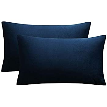 Amazon.com: Home Brilliant Lined Linen Throw Pillow Covers ...