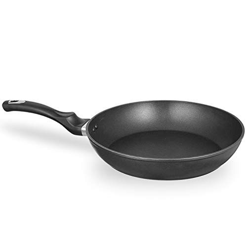 Chef's Star Frying Pan Non stick Ceramic Coated - Induction Ready Non-Stick Deep Frying Pan - Premium 12