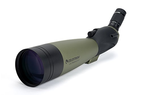Celestron 52252 100mm Ultima Zoom Spotting Scope (Best Scope For 600 Yards)