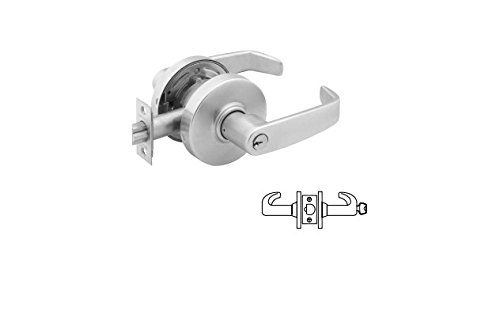 SARGENT 28 7G37-LL-26D CLASSROOM CYLINDRICAL LOCK IN SATIN CHROME by Sargent