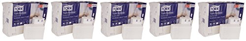 Tork Premium 100297 Extra Soft Xpress Multifold Paper Hand Towel, 4-Panel, 2-Ply, 8.35'' Width x 13.4'' Length, White (Case of 21 Packs, 100 per Pack, 2,100 Towels) (5-(Case of 21 Packs)) by Tork