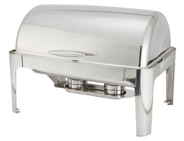 Chafing Dish, Stainless Steel (Heavyweight) - Full-size, 8 Qt.