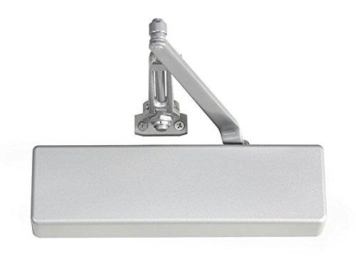 Norton 7500H 689 7500 Series Adjustable Hold Open 1 Door Closer, Satin Aluminum